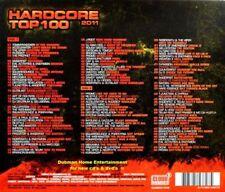Hardcore Top 100 - 2011   New  2 cd boxset