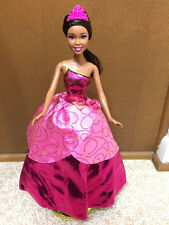 Barbie Charm School Princess Blair Transform Dress Doll Jointed African American