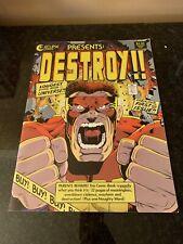 "Total Eclipse "" DESTROY!!! "" The Loudest Comic In The Universe !! Vol. 1 Num 1"