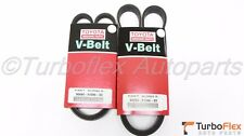 Toyota Lexus V6 3.0L 3.3L Genuine Drive Belt Set Power Steering Belt A/C Alt