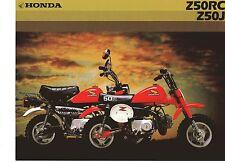 1982 HONDA Z50RC/Z50J 2 Page Motorcycle Brochure NCS