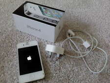 Apple iPhone 4 (16GB) White *UNLOCKED* Smartphone - Good USED Condition BOXED