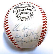 JSA Nolan Ryan Tom Seaver Yogi Berra McGraw Signed Autograph 1970 New York Mets