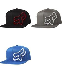 Fox Racing Headers Snapback Hat Men's Adjustable Cap