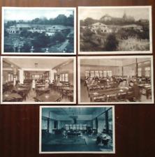 More details for 5 postcards lot czechoslovakia prague university student home albertov 1920s