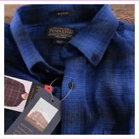 Pendleton Men's Cotton Mason Flannel Shirt Button-up