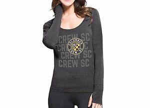 MLS Columbus Crew Womens '47 Forward Long Sleeve Tee T-shirt Pavement Sz Medium