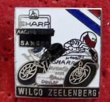 RARE PIN'S MOTO SHARP RACING TEAM SAMSON WILCO ZEELENBERG EGF