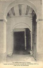 NANTES 164 pittoresque restes du cloitre couvent des carmélites rue strasbourg