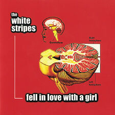 "WHITE STRIPES Fell in Love with a Girl 7"" Third Man black JACK MEG raconteurs lp"