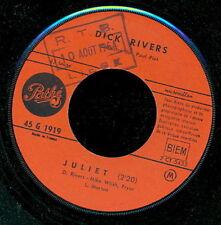 DICK RIVERS 45 TOURS FRANCE DIS TU DOIS M'ECOUTER