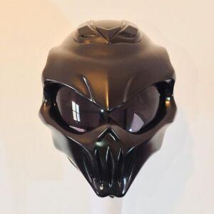 Custom motorcycle helmet / Iron Skull DOT and ECE Free international shipping