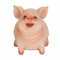Cartoon Piggy Bank Money Coin Saving Box Pig Shaped Saving Pot for Kids