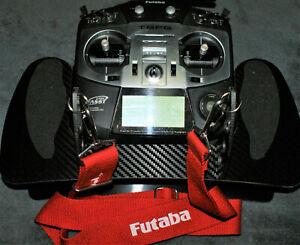 CNC console Senderpult für Futaba T8FG / T8FG Super in Carbon Lock