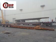 2002 50 Ton Load King Low Boy RGN Equipment Flatbed Step Deck Trailer - 3 Axles