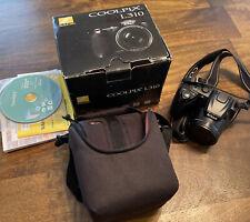 Nikon COOLPIX L310 14.1MP Digital Camera - Black With Case