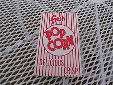 FRESH POP CORN BOX