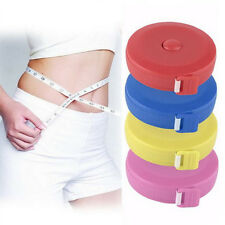 1.5M Retractable Tape Measure Sewing Cloth Tailor Dieting Tapeline Ruler WA