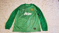 Mens Nike Manchester United AON T-Shirts  long Sleeve  Size XL 13-15 years