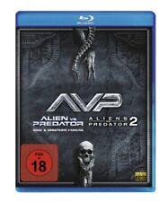 Alien vs. Predator 1+2 Blu-ray NEU OVP Teil 1+2