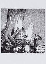 Moomin Immagine Poster 24 x 30 cm Tove Jansson Moomintroll e la Cometa