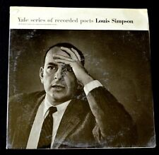YALE SERIES OF RECORDED POETS LOUIS SIMPSON-POETRY, SPOKEN WORD-RARE-SEALED LP