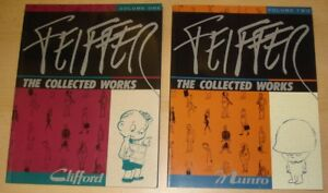 Feiffer: The Collected Works 3 Bände