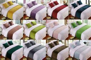 Velvet Bed Runner Scarf/Bed Tail for Hotel Home Bedroom Bedding Decoration H184
