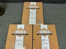 2003 Chevy S10 Pickup Truck Shop Service Repair Manual Set LS 2.2L 4.3L V6