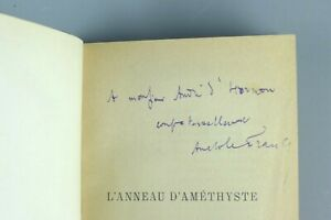 Anatole FRANCE - L'anneau d'Améthyste - 1899 - Dédicacé, édition originale