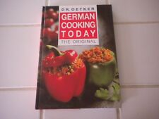 Dr. Oetker German Cooking Today The Original