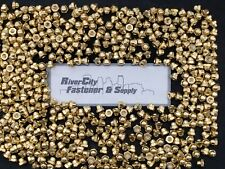 25 10 24 Brass Acorn Dome Cap Hex Nut 10 X 24 Nuts 10x24 Nut 1024