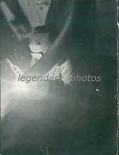Utah Mine Industry 1941 Welding Original News Service Photo