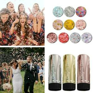 Compressed Air Confetti Cannons Wedding Birthday Baby Poppers Shower Party HOT