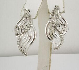 Nolan Miller Crystal Drop Earrings