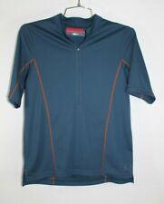 Novara Daypass Bike Jersey Mens Size Medium Half Zip Back Pocket Upf 50+ Cycling