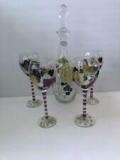 fd1d6b1c6b5 Home Essentials 5 Piece Hand-Painted Wine Set - EUC
