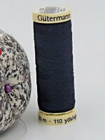 GUTERMANN -  Sew All Thread -100% Polyester- 100m - NAVY BLUE #339
