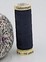 GUTERMANN -  Sew All Thread -100% Polyester- 100m - NAVY BLUE #339