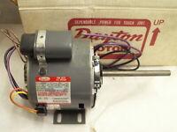 Dayton 3M2268B 1/4 Hp Condenser Fan Motor 1075RPM 230V Reversible 48YZ Frame (1D
