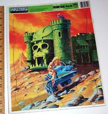 """Masters Of The Universe He-Man & Skeletor Frame-tray 11"""" x 14"""" puzzle - 1982"""
