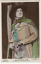 Vintage RP POSTCARD of ACTOR MR MATHESON LANG as Armand in The Purple Mask 1921
