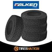 (4) Falken Wild Peak A/T3W LT285/75R17 E 121/118S All Terrain Any Weather Tires
