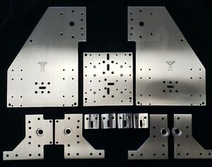 Deluxe Linear Rail Sphinx CNC Plate Set (seen at Openbuilds)