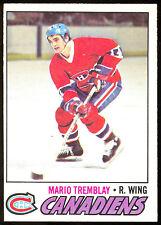 1977 78 OPC O PEE CHEE #163 MARIO TREMBLAY NM MONTREAL CANADIENS HOCKEY CARD
