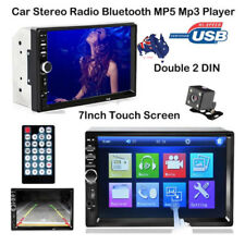 7 inch Touch Screen Bluetooth Car MP5 Player Video Stereo Radio +Reverse Camera