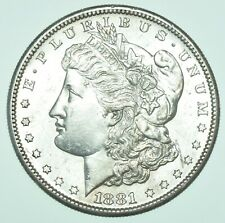 More details for usa, united states, morgan dollar, $1, 1881-s san fransisco mnt silver coin bu