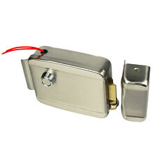 New Electronic Electric Door Lock for Door Intercom Access Control System+Track
