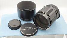 【Exc +3】  6 Elements Pentax SMC Takumar 135mm f/2.5 M42  w/Hood FROM JAPAN #1009