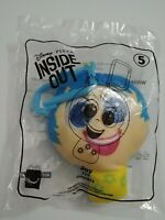 NEW Disney/Pixar INSIDE OUT #5 JOY Plush Toy for Backpack McDonalds 2020 Clip